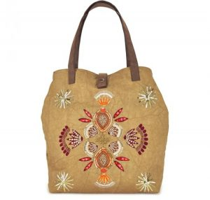 Embroidered Canvas Tote Bags