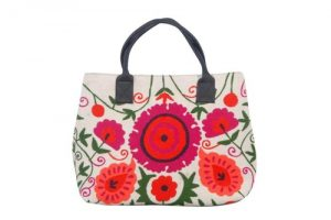 Embroidered Tote Bag