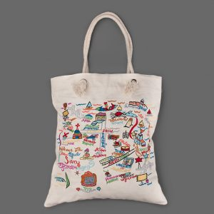 Embroidered Tote Bags Pictures