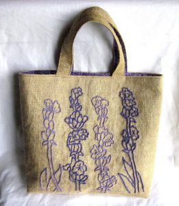 Hand Embroidered Tote Bags