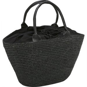 Large Straw Tote Bag