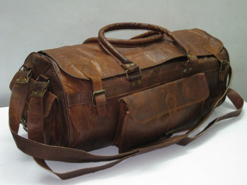 Leather Gym Bag Images