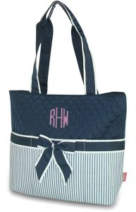 Personalized Quilted Diaper Bags