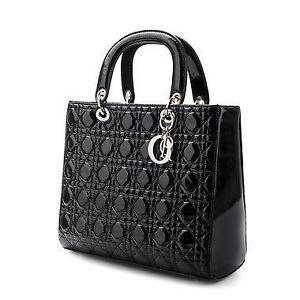 Quilted Black Bag