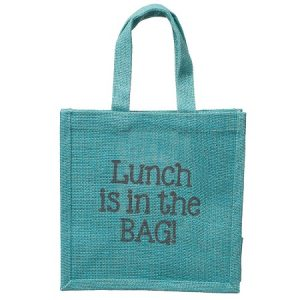 Small Jute Lunch Bags