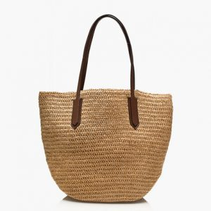 Straw Tote Bag Images