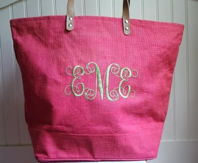 Monogrammed Beach Bags | All Fashion Bags