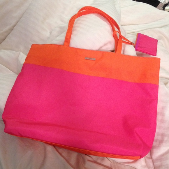 pink tote bags