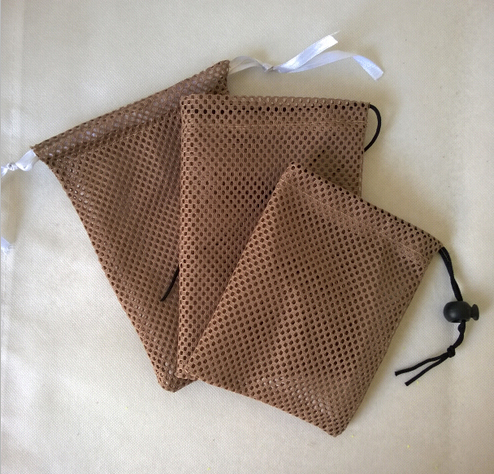 Small Net Drawstring Bags