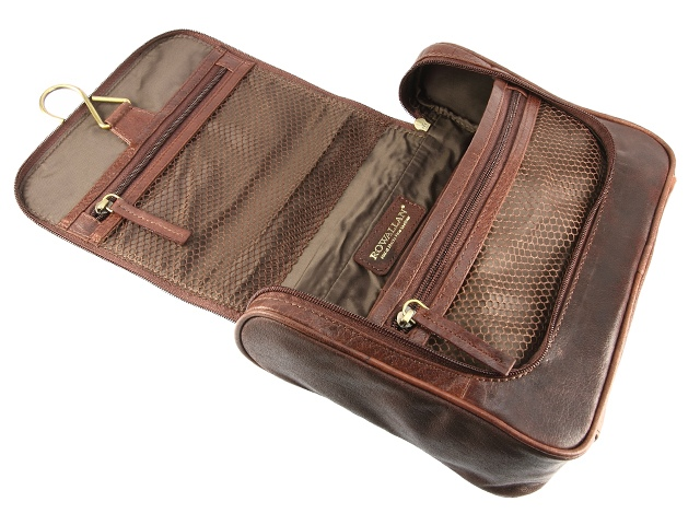 Leather Toiletry Bag All Fashion Bags