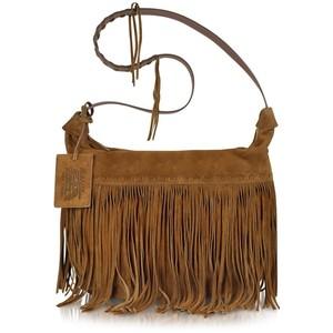 Suede Fringe Crossbody Bags