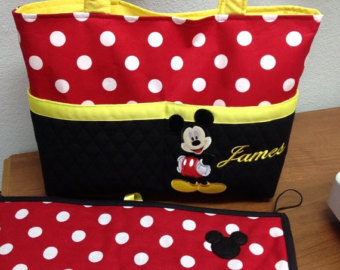 Mickey Mouse Diaper Bag All Fashion Bags