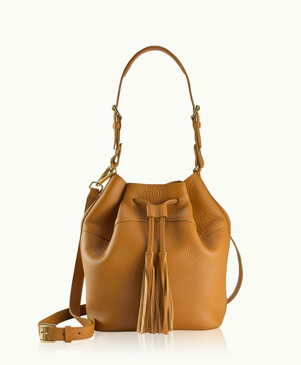 Tan Bucket Bag | All Fashion Bags