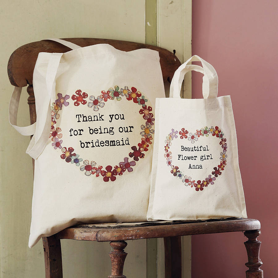 Bridesmaid Tote Bags For S