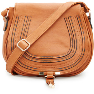 Leather Saddle Bag Purses