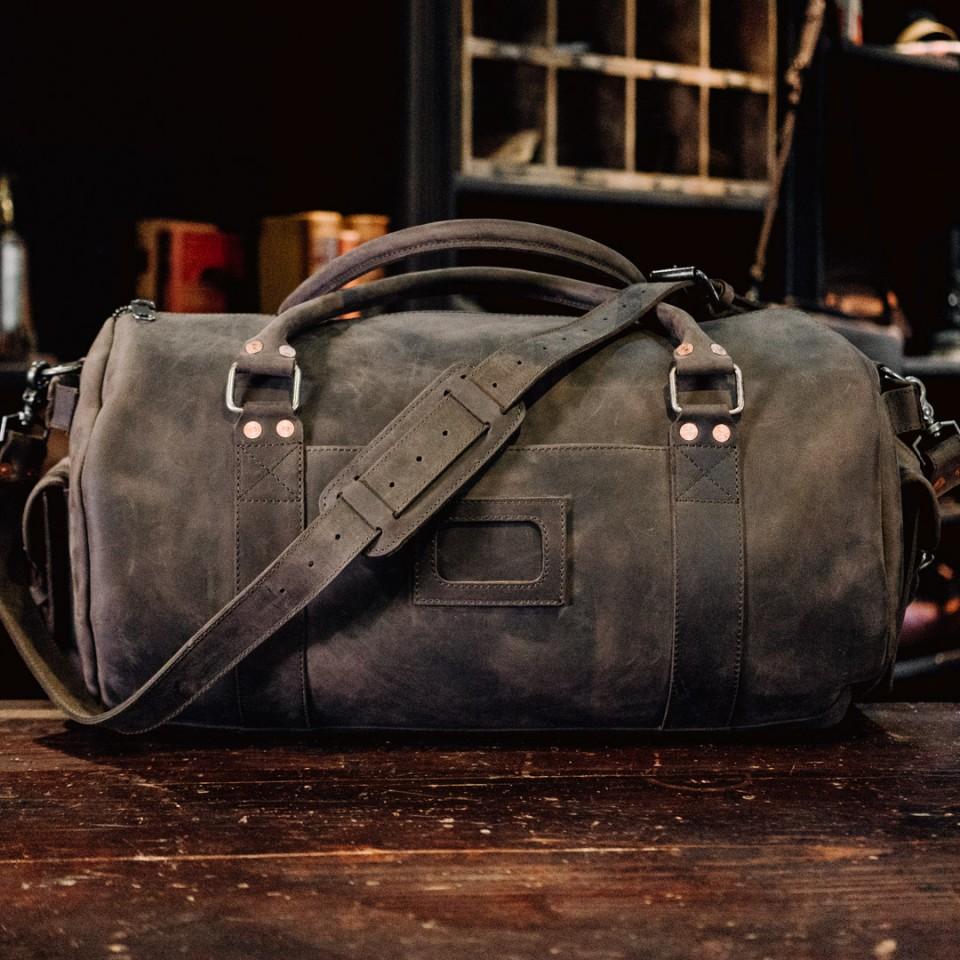 Faux Leather Duffle Bag Mens  16d182e2cc247